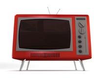 Retro- Fernsehapparat Lizenzfreie Stockfotos