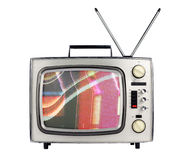 Retro- Fernsehapparat Lizenzfreies Stockfoto
