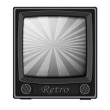 Retro- Fernsehapparat Stockfoto