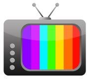 Retro- Fernsehen Lizenzfreie Stockfotografie