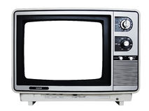 Retro- Fernsehen Stockbild