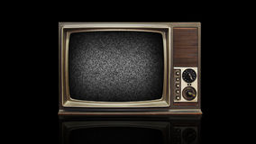 Retro- Fernsehen stock video footage