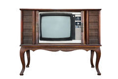 Retro- Fernsehen Stockfotografie