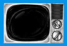 Retro- Fernsehhand gezeichnet Lizenzfreies Stockfoto