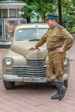 Retro festival 'Days of history' in Moscow Royalty Free Stock Photos