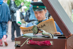Retro festival Days of history in Moscow Stock Images