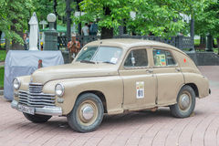 Retro festival Days of history in Moscow Royalty Free Stock Images