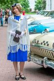 Retro festival Days of history in Moscow Royalty Free Stock Photo