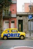 Retro Fiat Obraz Royalty Free
