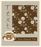 retro filiżanki herbata Zdjęcia Royalty Free