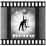 Retro film Fotografia Stock