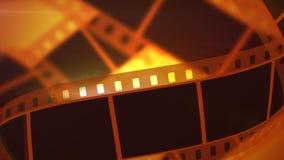 Retro- Film-Band Rolls Lizenzfreie Stockbilder