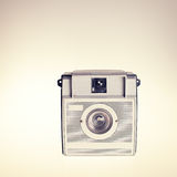 Retro Film Camera Stock Image