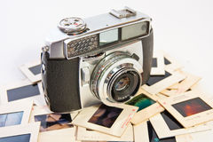 Retro film camera Stock Image