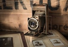 Retro film camera Royalty Free Stock Photos