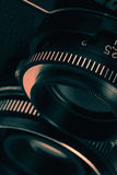Retro film camera lens Royalty Free Stock Photos