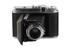 Retro film camera Royalty Free Stock Photo