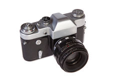 Retro film camera Royalty Free Stock Image