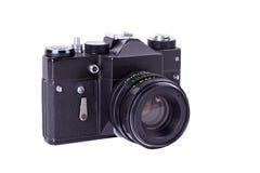 Retro film photo camera Stock Photo