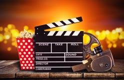 Retro film production accessories still life. Stock Photography