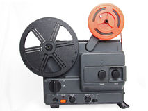 Retro film projector Stock Photography
