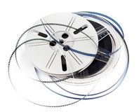 Retro film reel Stock Image