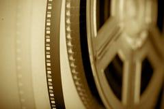 Retro- Filmbandspule Stockfoto