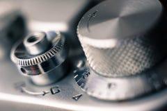 Retro filmcamera Royalty-vrije Stock Fotografie