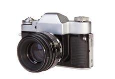 Retro filmcamera stock foto's