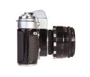 Retro filmcamera stock foto