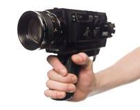 Retro filmkamera Royaltyfria Foton
