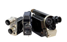 Retro- Filmkamera 8mm 16mm Lizenzfreies Stockbild