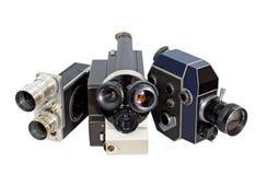 Retro- Filmkamera 8mm 16mm Lizenzfreie Stockfotos