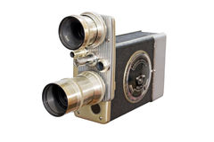 Retro- Filmkamera 8mm 16mm Stockfotografie