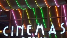 Retro- Filmzeichen stock footage