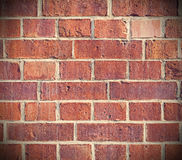 Retro filtered background made of old bricks Royalty Free Stock Photography