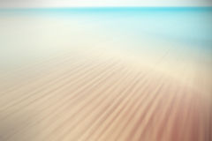 Retro filtered and blurred picture of a beach Stock Photos