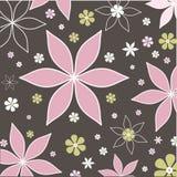 Retro fiori Fotografia Stock
