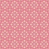 Retro fiori rosa su un fondo beige Fotografie Stock