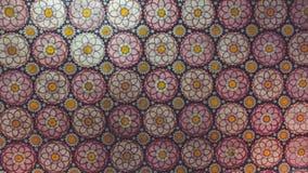 Retro fiori Sri Lanka immagine stock