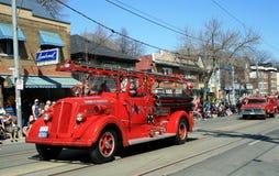 Retro Fire Car Stock Images