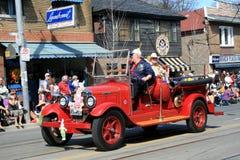Retro Fire Car Royalty Free Stock Photos