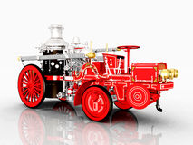 Retro Fire Engine Stock Image