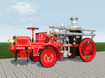 Retro Fire Engine Royalty Free Stock Image