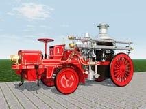 Retro Fire Engine Royalty Free Stock Image