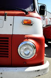 Retro firefighter truck Stock Image