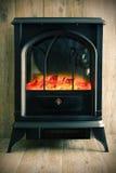 Retro fireplace Stock Photos