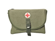 Retro First Aid Bag Stock Images