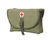 Retro First Aid Bag Royalty Free Stock Photos