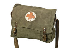 Retro First Aid Bag Royalty Free Stock Image